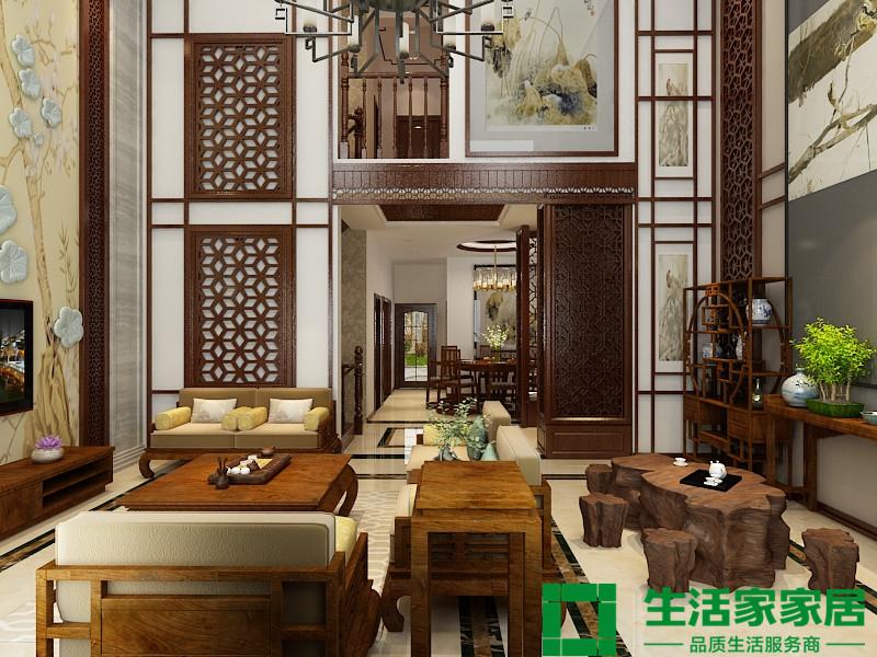 中式 别墅 小资 大气 传统 生活家家居 其他图片来自天津生活家健康整体家装在南湖红星国际广场 300平米的分享
