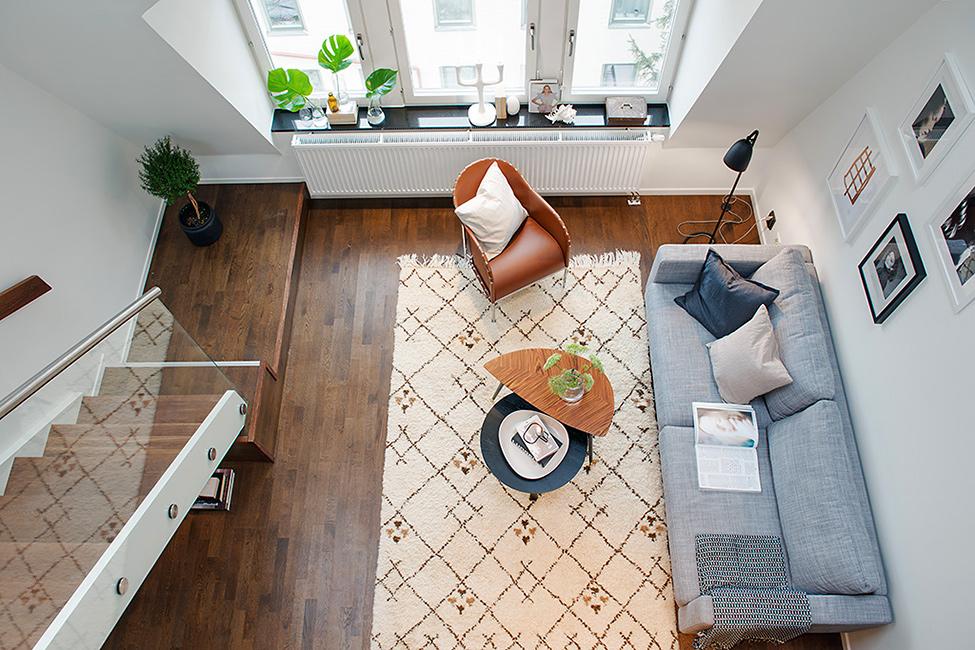 华贸城 简约 北欧 复式 客厅图片来自别墅设计师杨洋在充满阳光的迷人复式公寓的分享