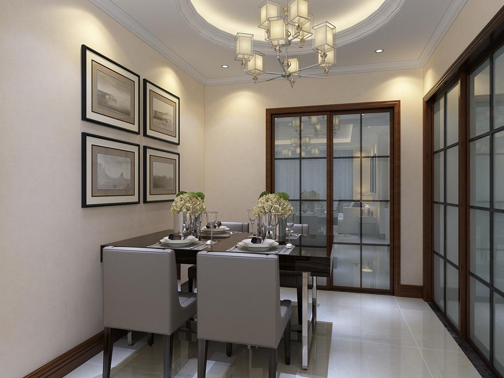 简约 二居 三居 客厅 卧室 厨房 80后图片来自不再是筱孩在东胜紫御府-98㎡-现代简约的分享