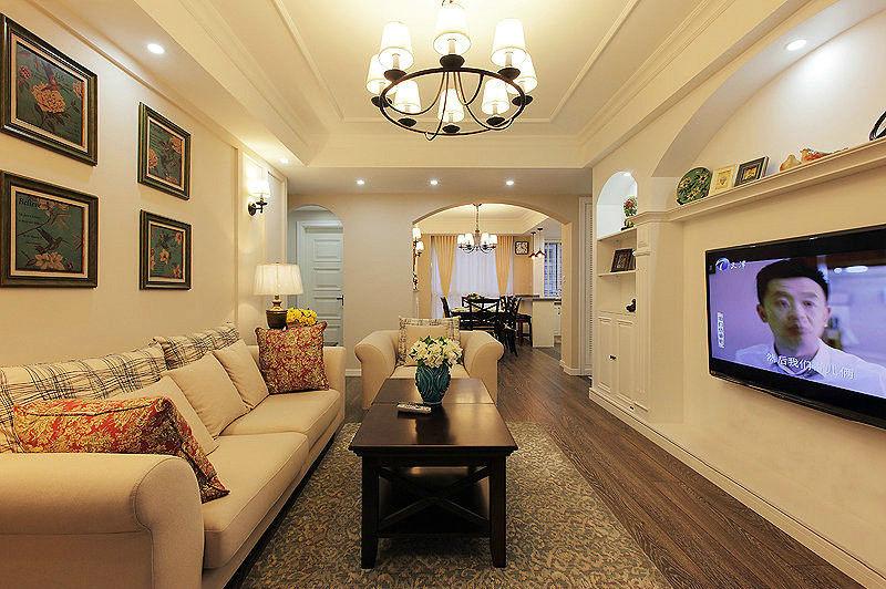 客厅图片来自成都-丰立装饰集团在混搭的分享