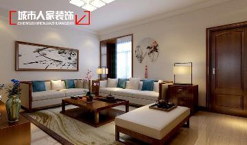 天泰玉泽园140平米设计中式三居