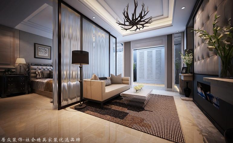 新古典 跃层 卧室图片来自杭州居众装饰集团设计院在金棕榈花园 -新古典-292平方的分享