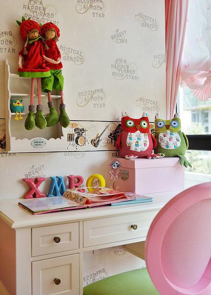 儿童房图片来自家装大管家在明艳典雅 126平欧式田园淡雅3居的分享