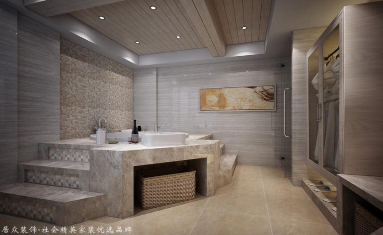 新古典 跃层 卫生间图片来自杭州居众装饰集团设计院在金棕榈花园 -新古典-292平方的分享