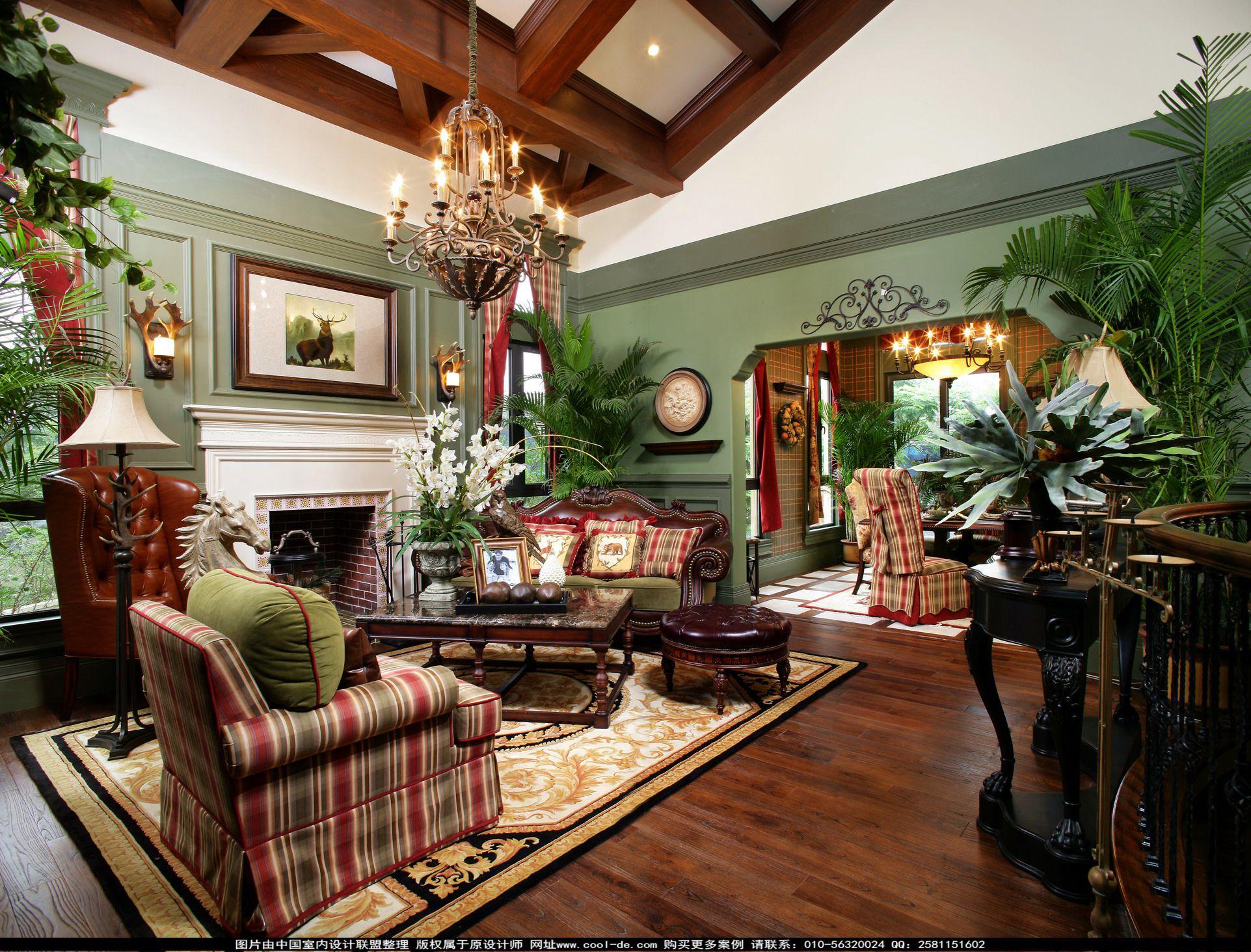 图片来自态美高端室内设计在美式简约设计的分享
