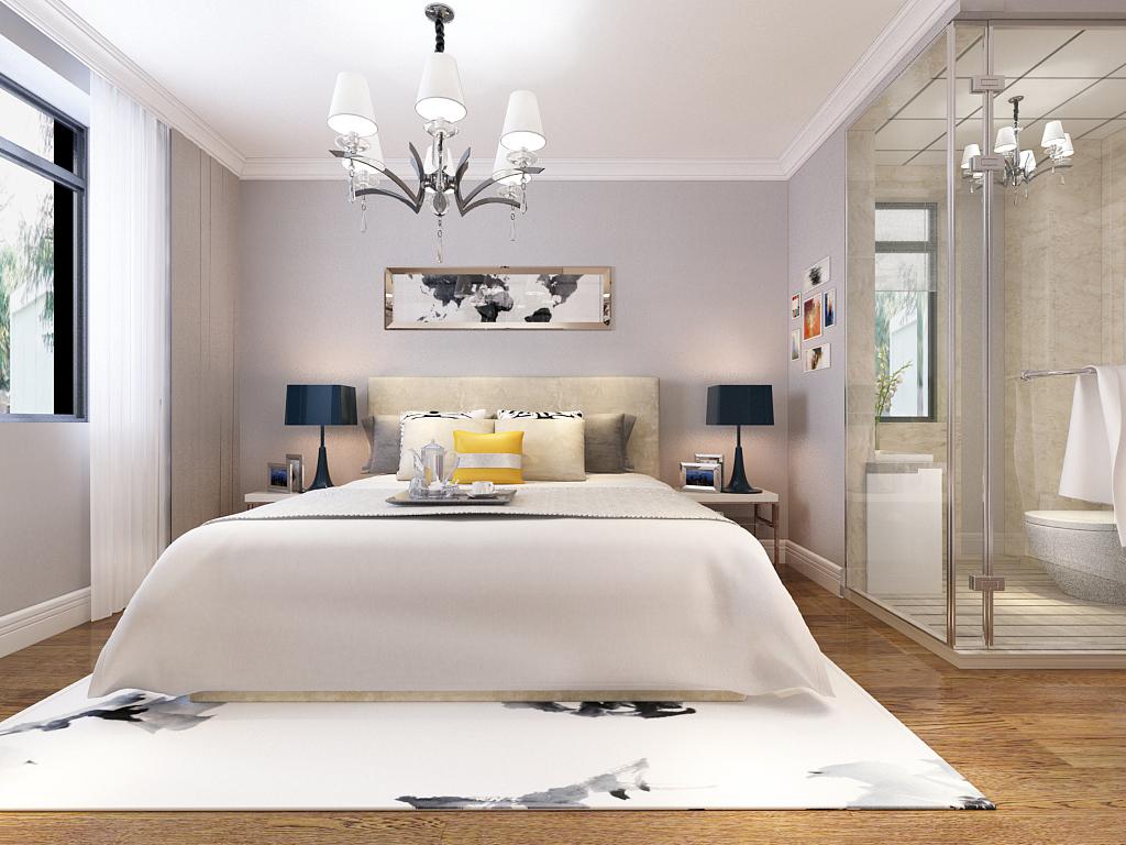 简约 二居 三居 餐厅 卧室 白领图片来自不再是筱孩在东风小区-132㎡-简约的分享