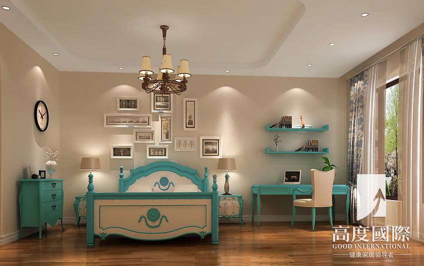 高度国际 成都装修 中西混搭 蔚蓝卡地亚 别墅装修图片来自高度国际于瑞在蔚蓝卡地亚-290平方米-中西混搭的分享
