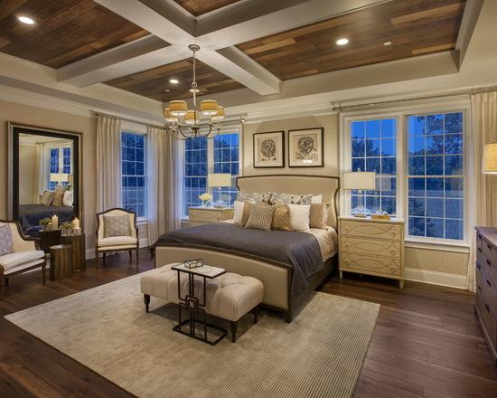 简约 北辰红橡墅 美式 别墅 卧室图片来自别墅设计师杨洋在北辰红橡墅的美式风格贵气之感的分享