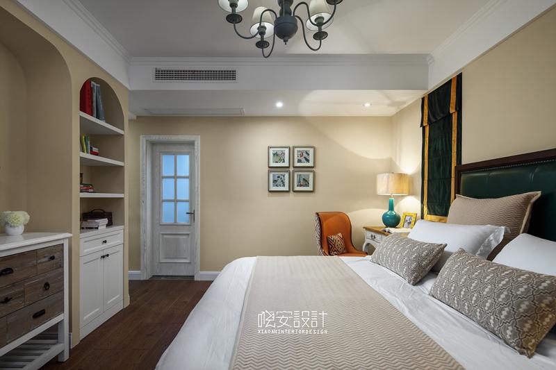 混搭 白领 小资 欧式 80后 田园 简约 卧室图片来自周晓安在晓安设计|蔚蓝海洋的分享