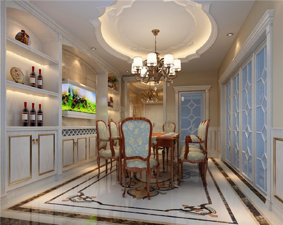 简约 欧式 田园 混搭 三居 别墅 白领 收纳 旧房改造 餐厅图片来自日升装饰秋红在龙湖香题国际社区欧式风格的分享