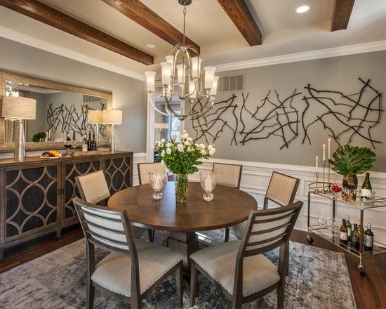 简约 北辰红橡墅 美式 别墅 餐厅图片来自别墅设计师杨洋在北辰红橡墅的美式风格贵气之感的分享