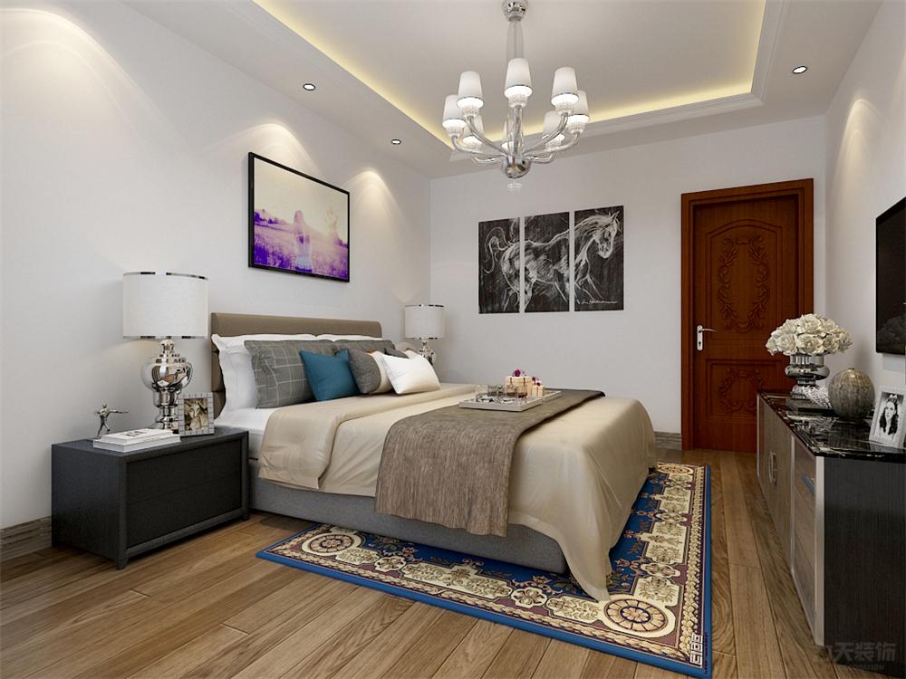 二居 东南亚 收纳 小资 卧室图片来自阳光力天装饰在东南亚-奥莱城-109㎡的分享