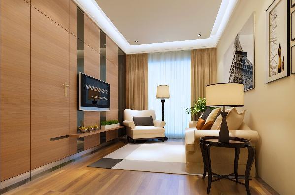 主要用材:胡桃木、枫木开放漆、乳胶漆调色、石材、烤漆玻璃  设计理念:安静、优雅、舒适、生活 设计风格:港式风格
