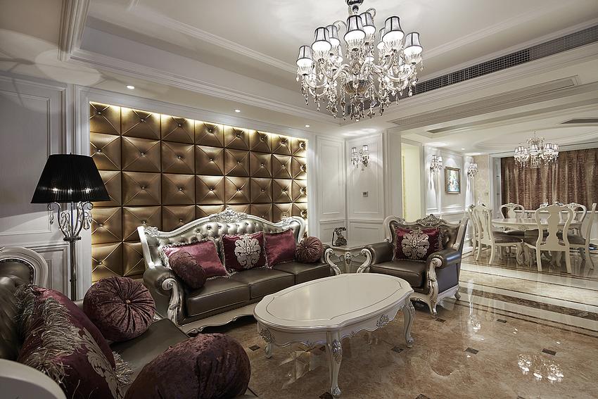 客厅图片来自武汉苹果装饰在王家湾生活区的分享