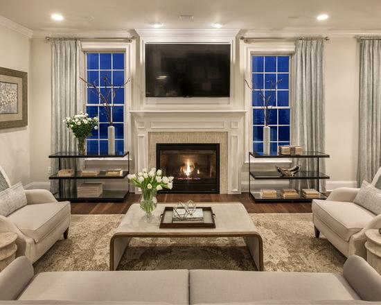 简约 北辰红橡墅 美式 别墅 客厅图片来自别墅设计师杨洋在北辰红橡墅的美式风格贵气之感的分享
