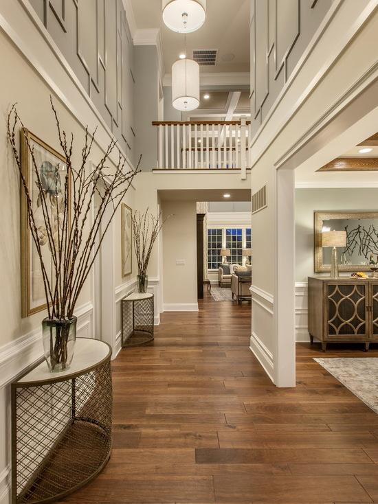 简约 北辰红橡墅 美式 别墅 玄关图片来自别墅设计师杨洋在北辰红橡墅的美式风格贵气之感的分享