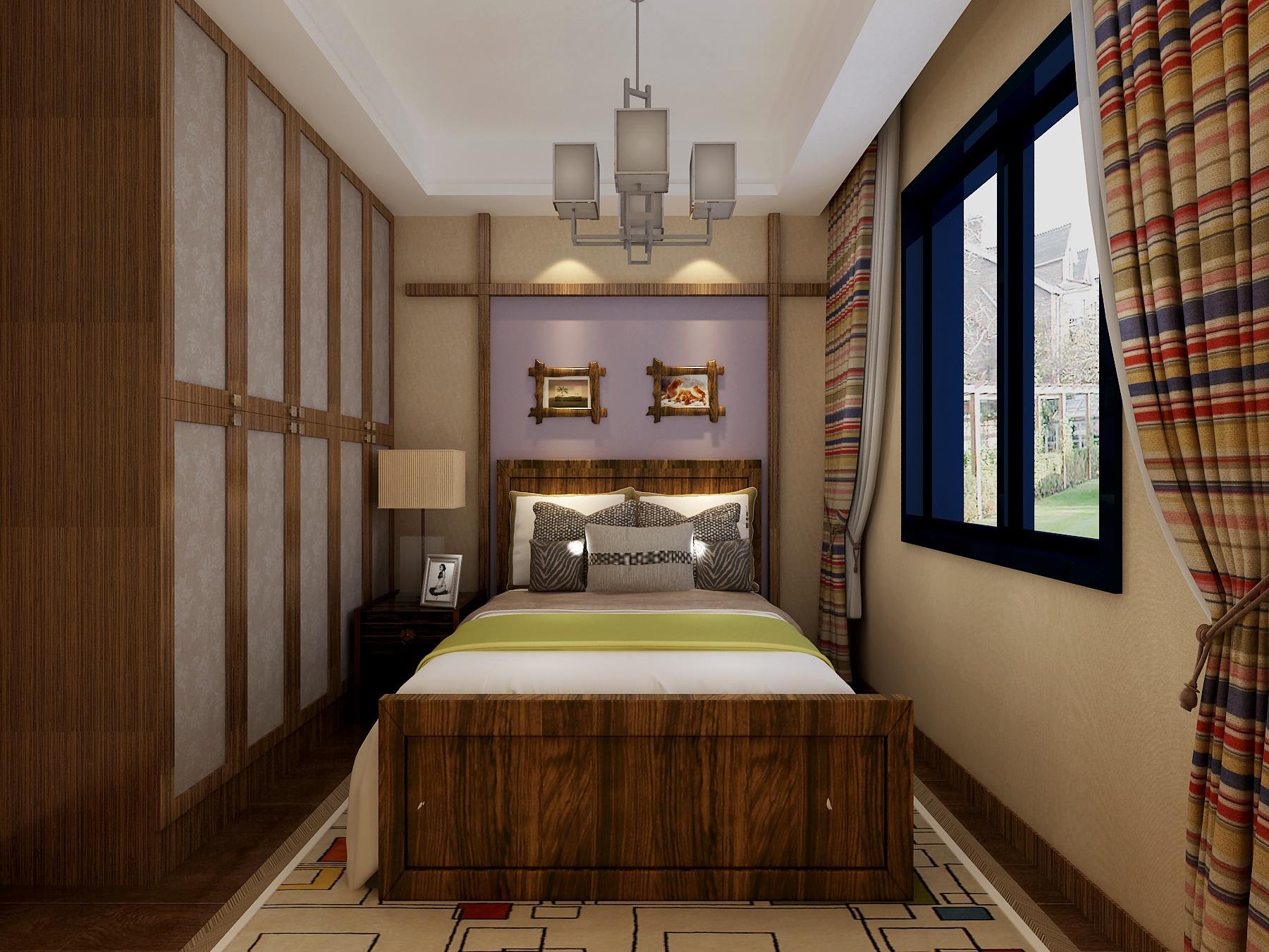 三居 别墅 卧室图片来自武汉生活家在新中式风格的分享