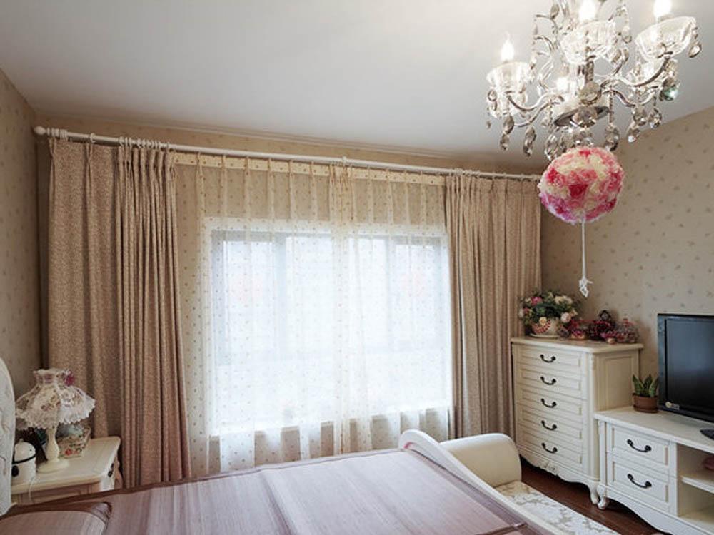 欧式 二居 卧室图片来自tjsczs88在清雅俊逸,素白简欧的分享