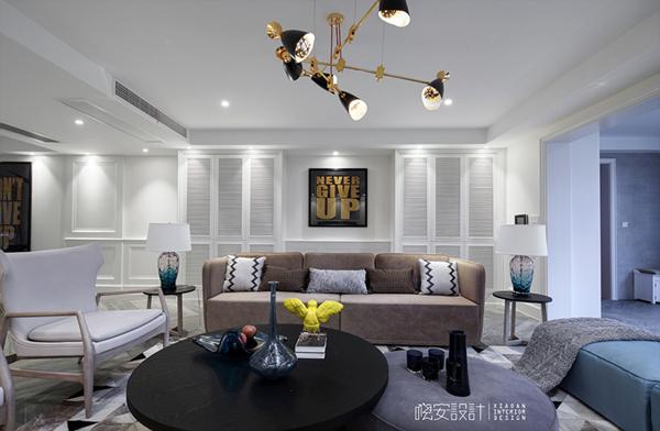 简约 混搭 三居 白领 收纳 80后 小资 客厅图片来自周晓安在晓安设计 素白的分享