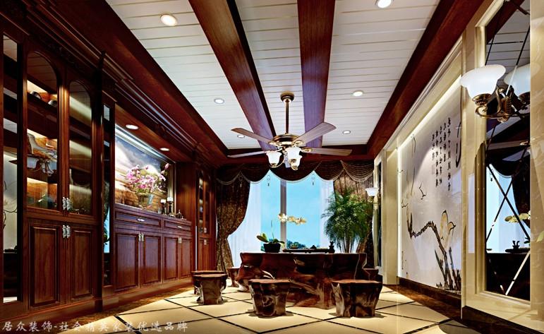 混搭 复式 其他图片来自杭州居众装饰集团设计院在和家园 -混搭风格-270平的分享