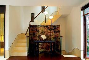 二居 三居 简约 欧式 田园 混搭 别墅 旧房改造 80后 楼梯图片来自成都上舍居装饰在建发泱墅的分享