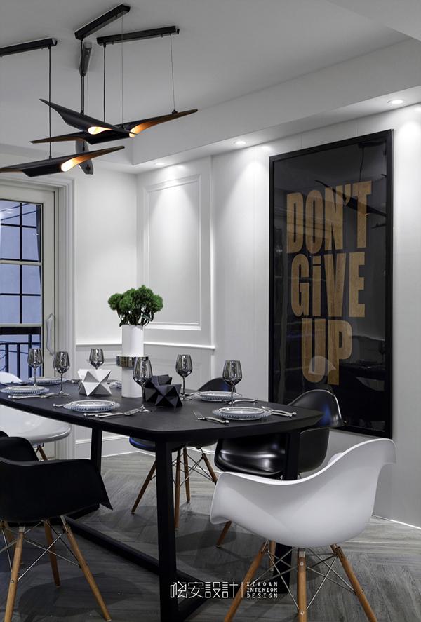 简约 混搭 三居 白领 收纳 80后 小资 餐厅图片来自周晓安在晓安设计|素白的分享