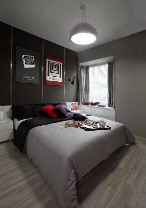 北欧 简欧 现代 温馨 家装 装修 西安 设计 卧室图片来自翼森设计在翼森北欧风情的分享