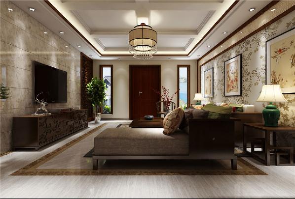 复地御香山-500平方米----客厅