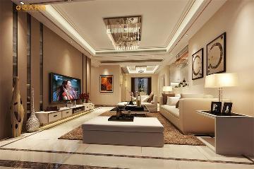 浩天装饰中熙香槟山-现代风格