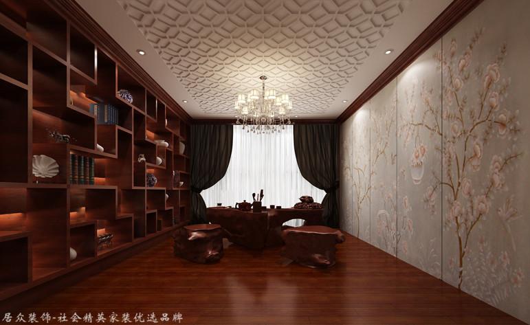 复式 中式 其他图片来自厦门居众装饰设计工程有限公司在当代天境-中式风格-220㎡的分享