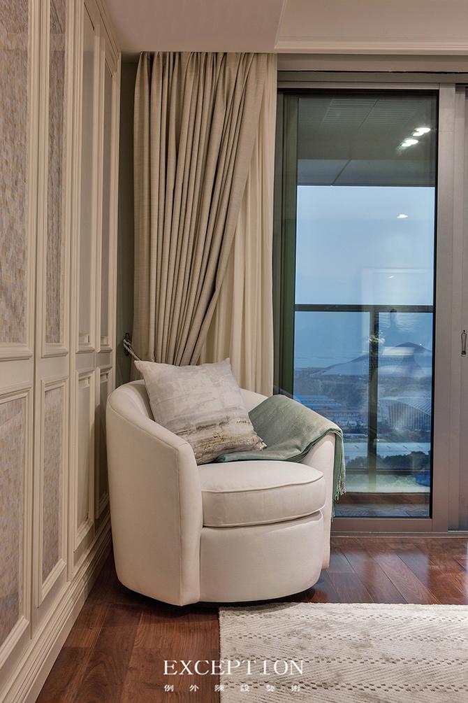 室内设计 软装设计 别墅设计 复式设计 客厅设计 软装设计师 室内设计师 设计公司 时尚生活 卧室图片来自例外软装设计在燕尔臻邸--深圳鲸山觐海复式设计的分享