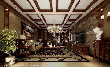 昆仑公馆-美式风格-299平