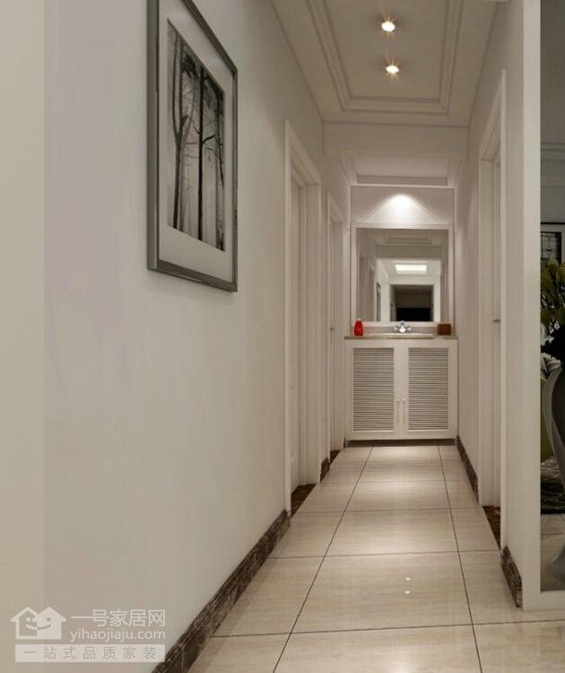 简约 三居 玄关图片来自武汉一号家居在观澜高尔夫公馆95平三室两厅简约的分享