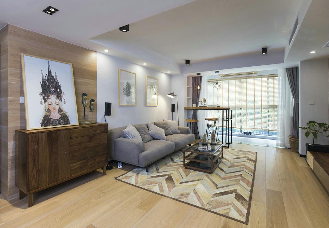 简约 客厅图片来自北京今朝装饰装修达人在现代简约的分享