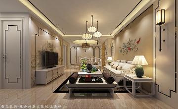水晶国际-中式风格-160㎡
