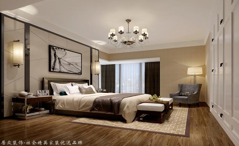卧室图片来自昆明居众装饰设计工程有限公司在城星泽园-现代简约-146㎡的分享