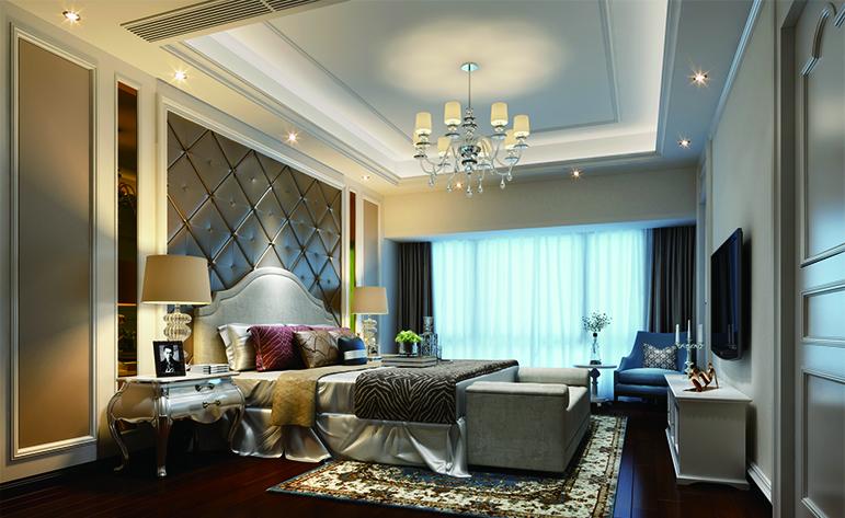 欧式 复式 卧室图片来自厦门居众装饰设计工程有限公司在帝景苑-欧式风格-220㎡的分享