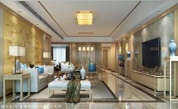 青瓷大宅-中式风格-254㎡