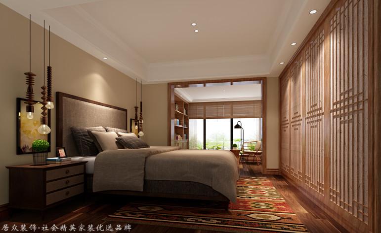 美式 别墅 卧室图片来自杭州居众装饰集团设计院在桃花源-美式风格-344平的分享
