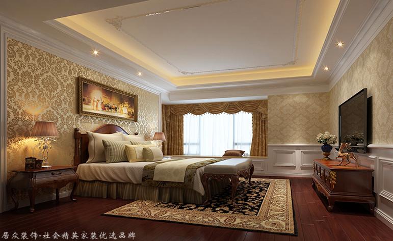 欧式 三居 卧室图片来自厦门居众装饰设计工程有限公司在明发半岛祥湾-欧式风格-122㎡的分享
