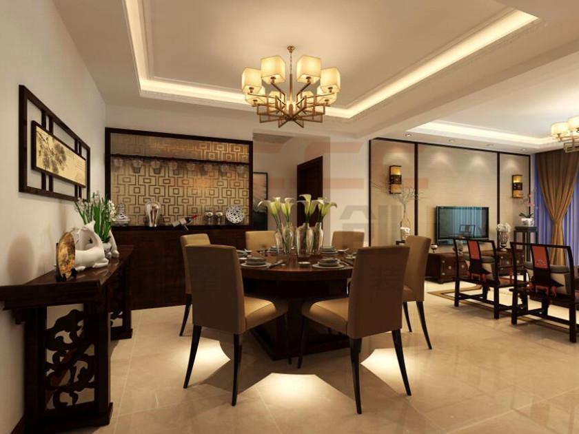 石家庄实创 石家庄装修 完美家装 国际城 室内设计 餐厅图片来自实创装饰石家庄在石家庄国际城-装修款全额返的分享