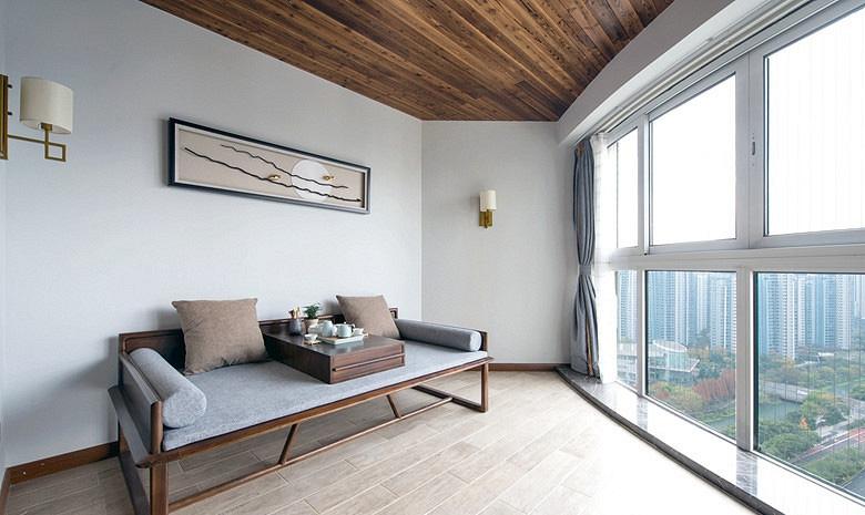 书房图片来自家装大管家在暖暖的空间 150平现代港式3居室的分享