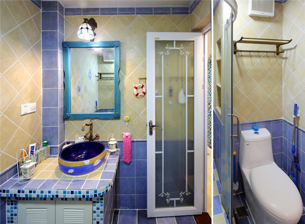 卫生间图片来自武汉苹果装饰在东原晴天见的分享