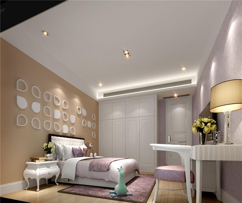 卧室图片来自天津科艺隆装饰在保利海棠湾—250㎡的分享