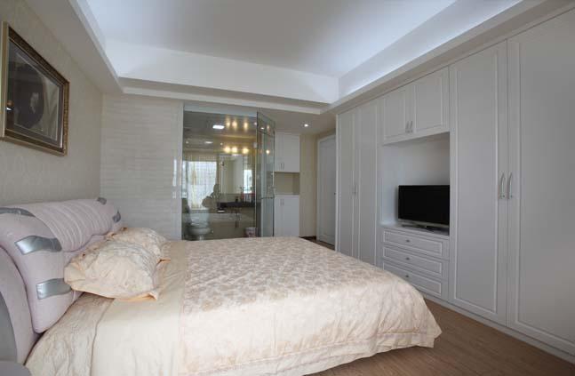 简约 欧式 田园 混搭 二居 三居 旧房改造 80后 卧室图片来自成都上舍居装饰在成都新房装修案例的分享
