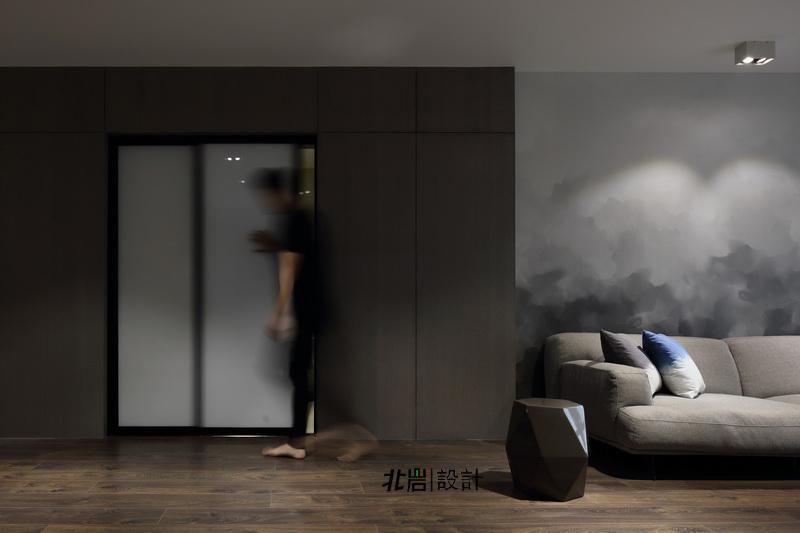 简约 收纳 旧房改造 客厅图片来自北岩DESIGN在墨染--北岩设计实景作品的分享