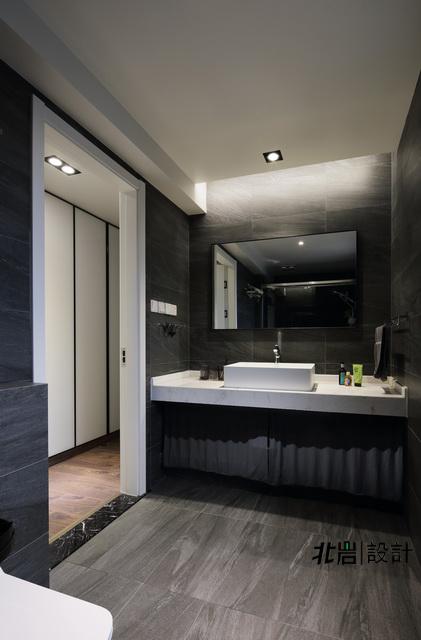 简约 收纳 旧房改造 卫生间图片来自北岩DESIGN在墨染--北岩设计实景作品的分享