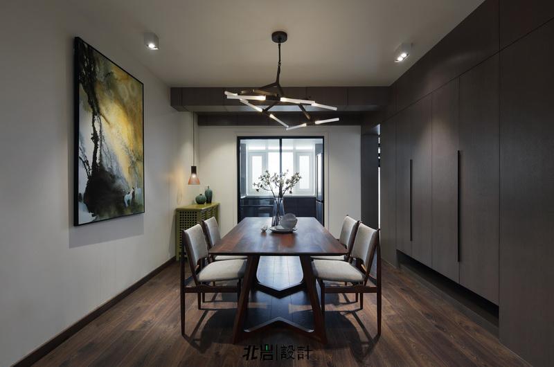 简约 收纳 旧房改造 餐厅图片来自北岩DESIGN在墨染--北岩设计实景作品的分享