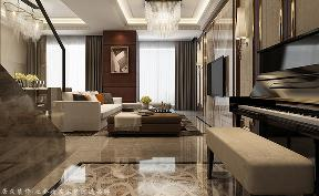 现代 复式 港式 玄关图片来自杭州居众装饰集团设计院在篁外-现代风格-180平的分享