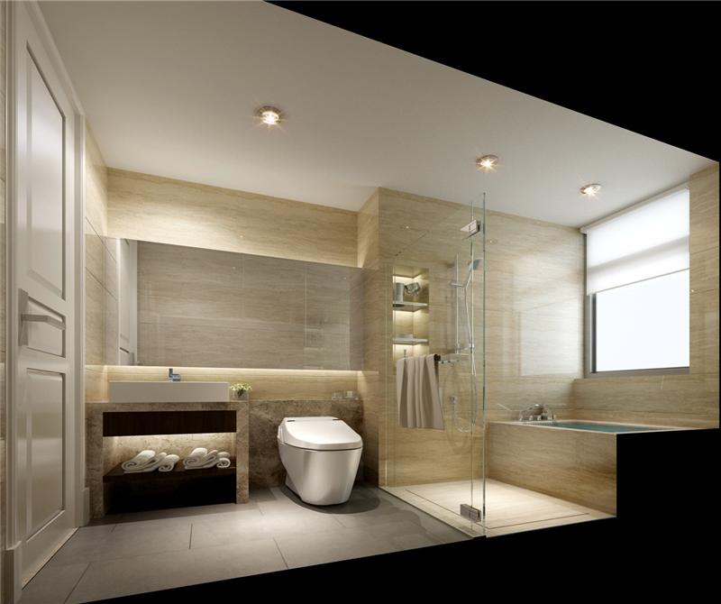 卫生间图片来自天津科艺隆装饰在保利海棠湾—250㎡的分享